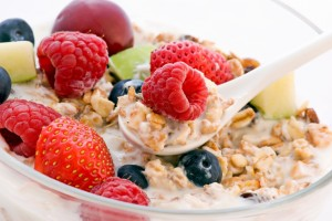 Oatmeal Fruit