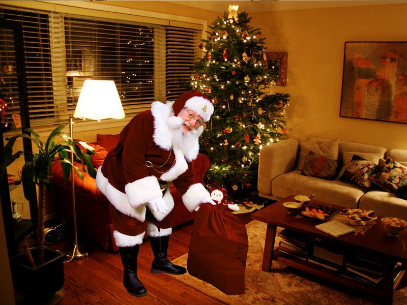 7 ways to keeping santa real for kids - App that puts santa in your living room ...