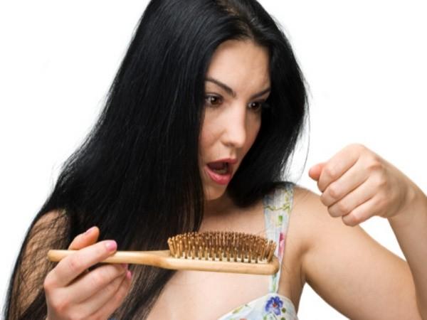 hair stuck