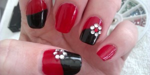 Flower Nail Art Tutorial and Photos