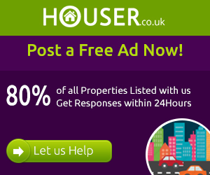 Advertise Property for Sale or to Rent Free in UK at Houser.co.uk