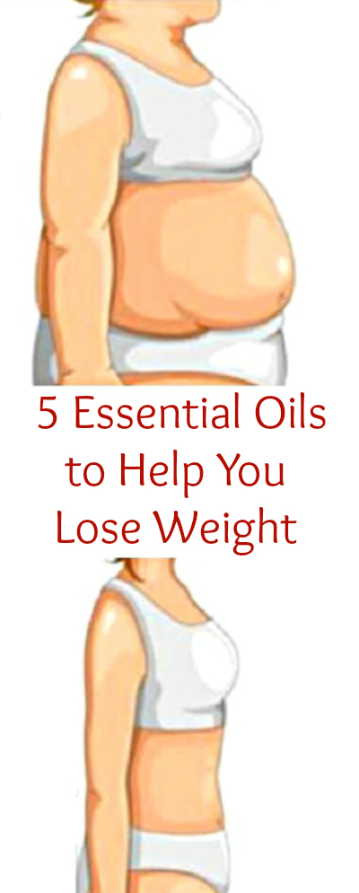 5 Essential Oils to Help You Lose Weight